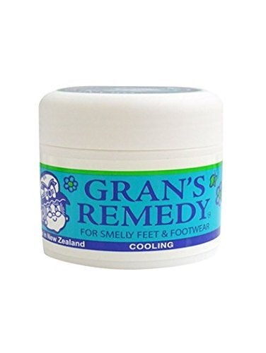 Foot Odor Eliminator for Smelly Feet & Footwear, Foot Care Powder Cause it Kills the Bacteria up to 6 Months, Freshens Better Than Spray Deodorant it Disinfects & Deodorizes Shoes & Boots by Gran's Re (Miracle Deodorant)