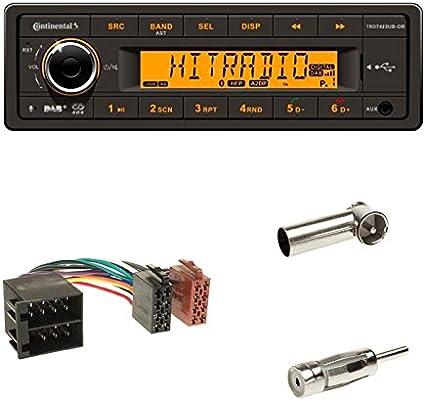 Continental 24v Dab Radio Rds Usb Mp3 Wma Bluetooth Elektronik