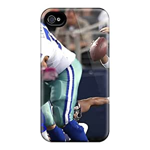 For Iphone Case, High Quality Nfl Dallas Cowboys Tony Romo Qb Color For Iphone 4/4s Cover Cases
