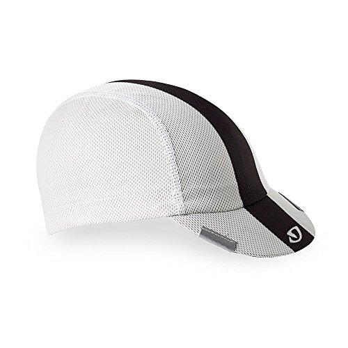 (Giro Peloton Cap Cycling Cap White/Black/Grey)