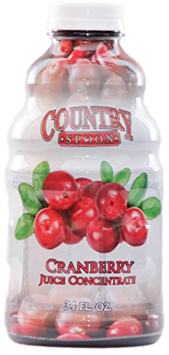 Cranberry Juice Concentrate by Country Spoon (34 oz.)