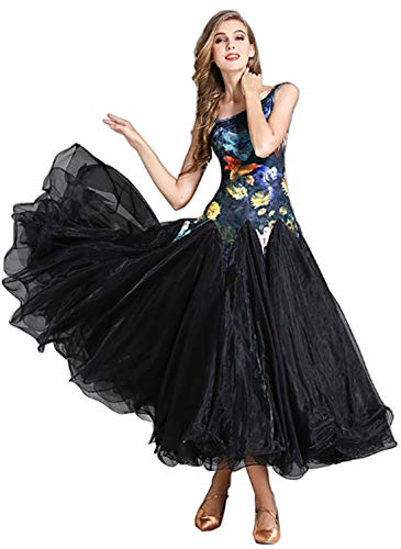 CHAGME Forest Elf Dress Waltz Dress Modern Dress