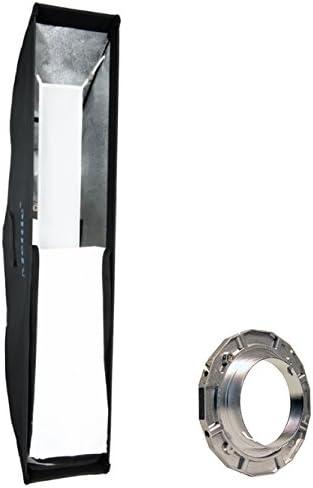 METTLE Striplight Soft Box - Caja de luz (30 x 120 cm, con ...