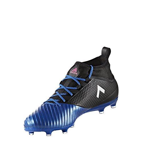 adidas Originals Men's Ace 17.2 Primemesh Fg Soccer Shoe, Black/White/Satellite, (9 M US) Fg Womens Cleats