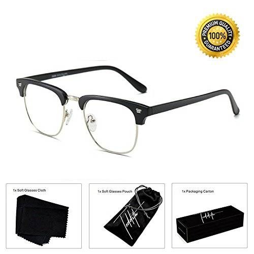 Teddith Blue Blocker Computer Glasses Anti Glare / Blue Light Scratch Resistant