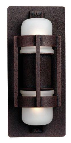 Lakeside Outdoor Wall Lantern in Bronze Size/Bulb: Small/Xenon