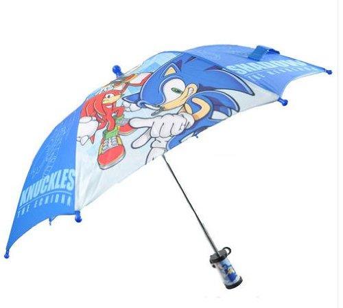 Sonic The Hedgehog Boys 3D Handle Umbrella Size
