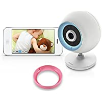 D-Link DCS-820L Wireless Baby Camera with Day and Night Vision, 2-Way Talk, Local and Remote Video Baby Monitor App for iPhone and Android