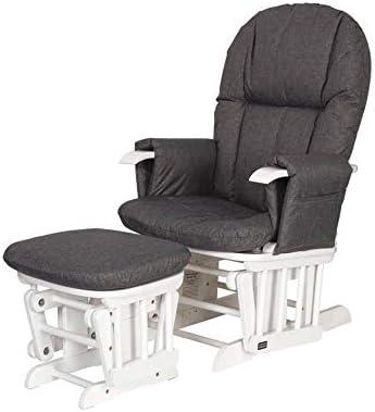 Superb Tutti Bambini Daisy Deluxe Reclining Glider Chair Stool Creativecarmelina Interior Chair Design Creativecarmelinacom