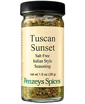 Tuscan Sunset By Penzeys Spices 1 oz 1/2 cup jar