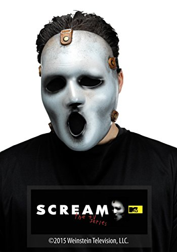 Fun World Men's MTV Scream Adult Mask, white, Standard