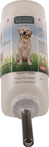 Lixit 30-0685-036 Dog Water Bottle, Large, 32-Ounce