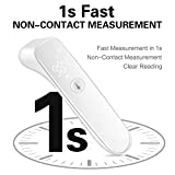 Forehead Thermometer for Fever, Digital Thermometer for Baby, Kids, and Adult 1s Instant Accurate Reading
