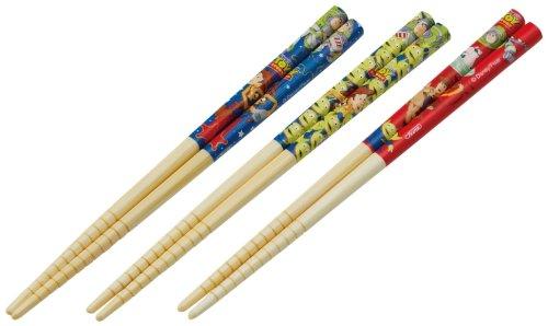 Bamboo chopsticks safety 3P 16.5cm Toy Story Disney