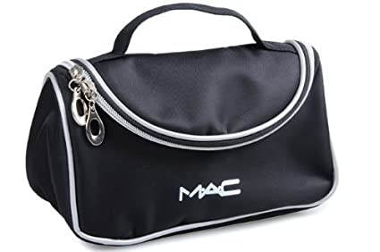 Amazon.com: Mac cosméticos negro Maquillaje caso Maquillaje ...