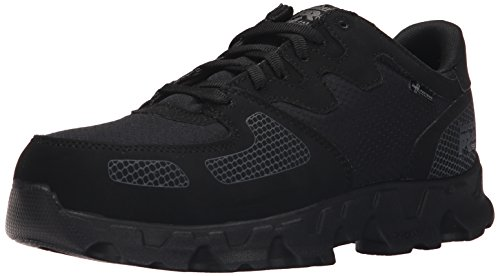 Work Timberland Low Shoe ESD PRO Men's Nylon Powertrain Black Ripstop Toe Alloy Synthetic wwA0arq