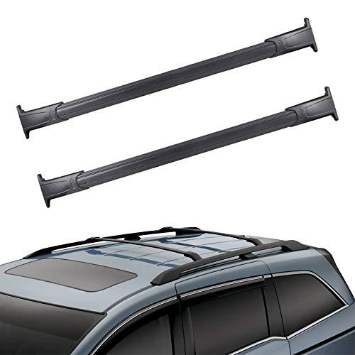 JDMON Compatible with Roof Rack Cross Bars Cadillac Escalade, Chevy Suburban Chevy Tahoe GMC Yukon 2015 2016 2017 2018…