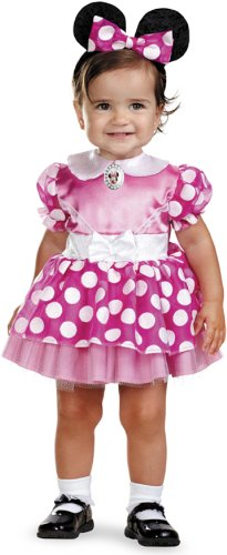 Costume Baby Mickey Disney Mouse (Minnie Mouse Clubhouse - Pink Minnie Mouse Infant Costume 12-18)