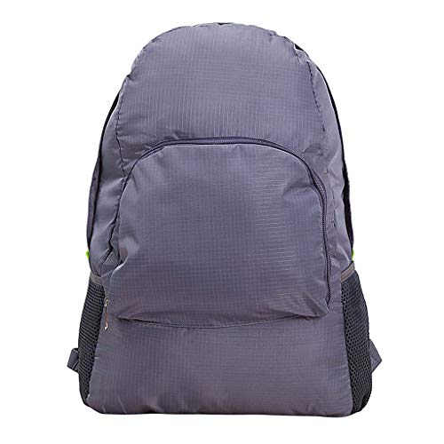 - BXzhiri Outdoor Sports Backpack Unisex Leisure Backpack Large Capacity Waterproof Backpack Foldable Travel Backpacks
