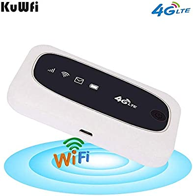 KuWFi 4G LTE Mobile WiFi Hotspot Travel Router Partner ...