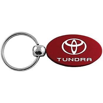 Au-Tomotive Gold Toyota Camry Burgundy Valet Key Chain Car Gift Fob INC