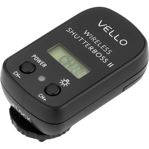 Vello Wireless ShutterBoss II Receiver(3 Pack) by VELLO