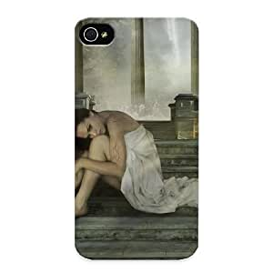 New Tpu Hard Case Premium Iphone 4/4s Skin Case Cover(fantasy Woman) For Christmas Gift