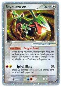 - Pokemon - Rayquaza ex (102) - EX Deoxys - Holofoil