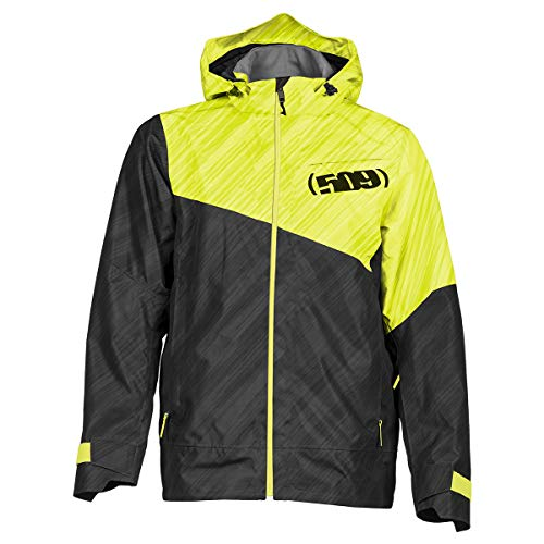 - 509 Stoke Jacket Shell (Stealth Hi-Vis - X-Large)