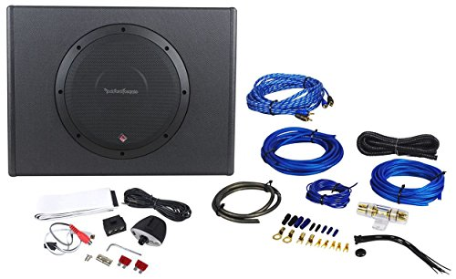 Rockford Fosgate P300-10 10'' 300W Sealed Powered Subwoofer/Sub Enclosure+Amp Kit by Rockford Fosgate (Image #1)
