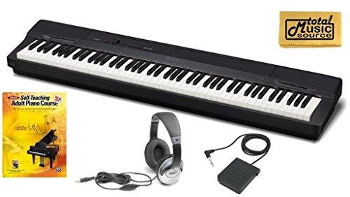 Casio Privia PX-160  PACK1 Digital Piano TMS Bonus Pack- Black