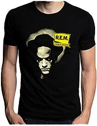 R.E.M. Losing My Religion Rock Music Band REM Logo Men's T-Shirt