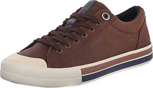 Tommy Hilfiger Canvas Shoes (Tommy Hilfiger Men's RENO2 Shoe, COGNAC, 11 Medium)