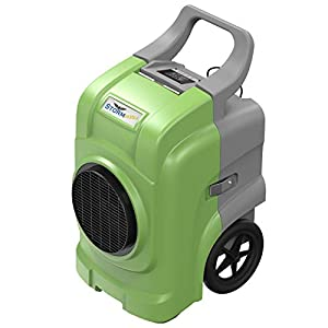 AlorAir Storm Elite Commercial Dehumidifier, 270 PPD High Performance, cETL, 5 Years Warranty, Industrial Dehumidifier with a Condensate Pump, Cover 3,000 sq. Ft, for Disaster Restoration, (Green)