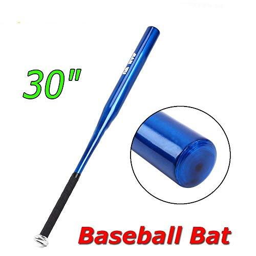 30'' Blue Aluminum Alloy Metal Softball Baseball Bat Light Weight Youth Adult US
