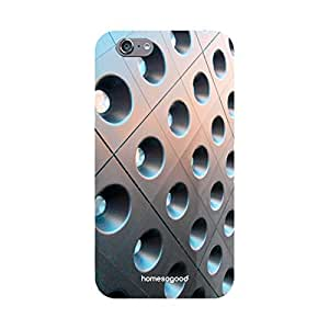 HomeSoGood Cup Holder Pattern Grey 3D Mobile Case For iPhone 6 (Back Cover)