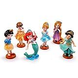 Princess From Disney Cartoon Cake Topper Mini Figure