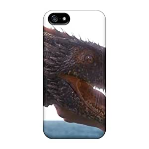 Protection Cases For Iphone 5/5s / Cases Covers For Iphone(game Of Thrones - Drogon)