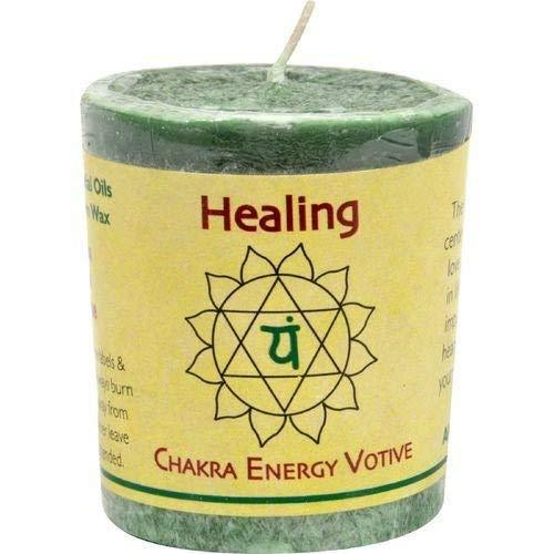 Aloha Bay Chakra Votive Candle, Healing