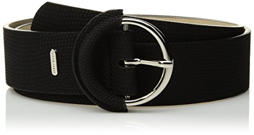 AK Anne Klein Women's 38mm Snake Panel Accessory, -black, Medium