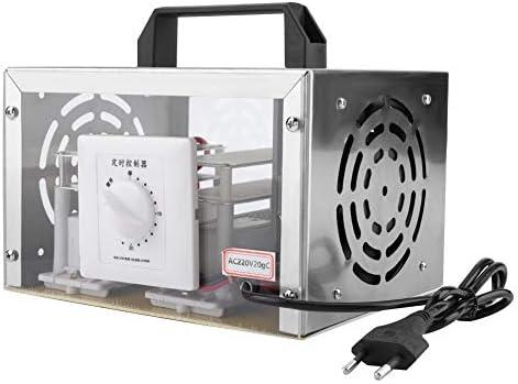 20g generador de ozonizador, purificador de purificador de Aire purificador de Oficina en el hogar máquina de desinfección de ozono(220V UE): Amazon.es: Hogar
