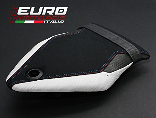 BMW S1000RR 2015-2017 Luimoto Motorsports Suede Seat Cover Set Front & Rear + Gel Pad by Luimoto (Image #6)