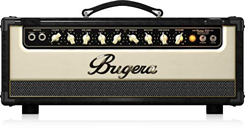- BUGERA V55HD-INFINIUM 55-Watt Vintage 2-Channel Amplifier Head with Infinium Tube Life Multiplier and Reverb Multi Colored (V55HDINFINIUM)