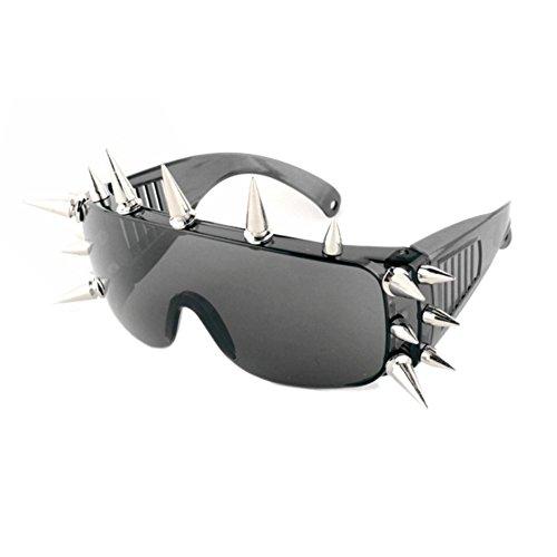 Price comparison product image SG10902C4 PC Lens Rivet Plastic & Metal Frames Sunglasses