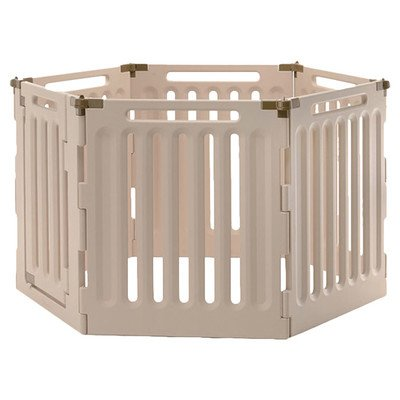 Playpen Pet Richell (Richell Convertible Low Pet Playpen 6 Panel)