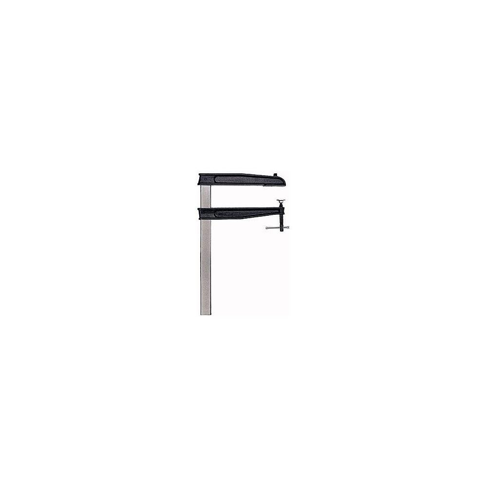 Bessey TGN60T30K Serre-joint ré glable en fonte'TGNT-K', Gris/noir, 600/300 mm