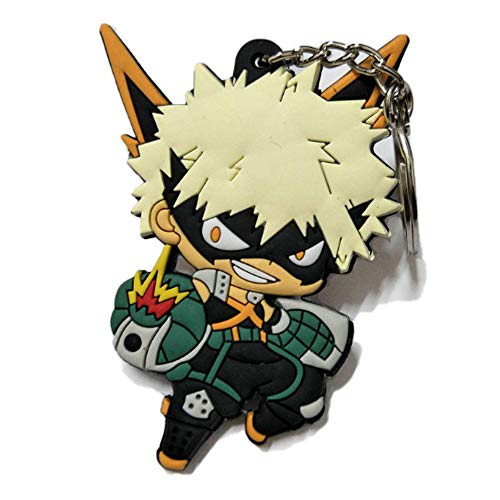 (DOFE My Hero Academia Keychains,PVC Keychains for boys.3.1