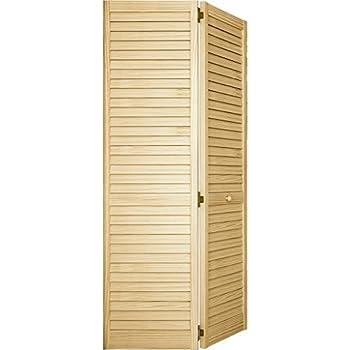 Closet Door Bi Fold Louver Louver Plantation 36x80 Closet