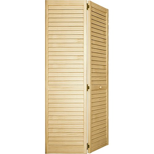 Closet Door, Bi-fold, Louver Louver Plantation (36x80) (Shutter Door)