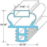 Delfield 1701185 Gasket Door 24 7/8 X 23 7/8 Fit Magnetic Pushes Into Door 25348